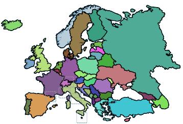 Afbeeldingsresultaat voor topografie europa