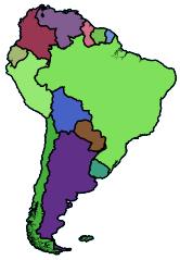 afrika kaart met namen